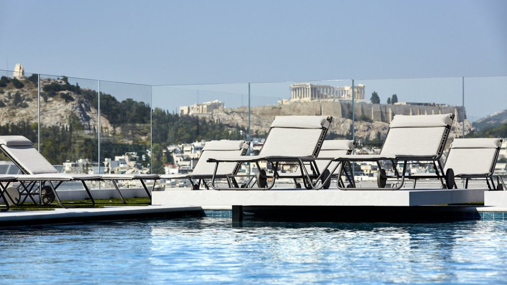 The Grand Hyatt Athens – 5 Star Hotel with Roof Top Pool