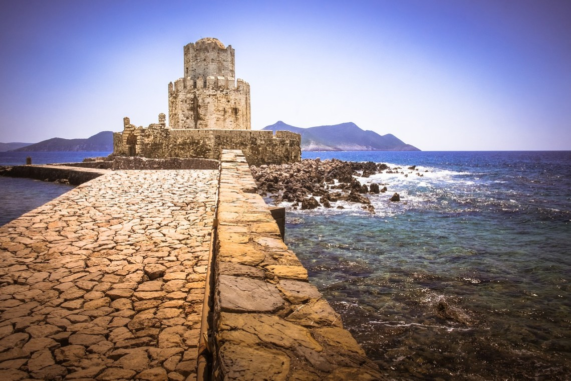 Methoni is one of the best castles in Greece.