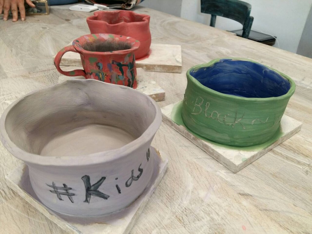 pottery workshop for kids in Athens