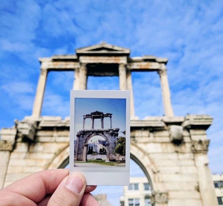 Instagram tour Athens instant photo