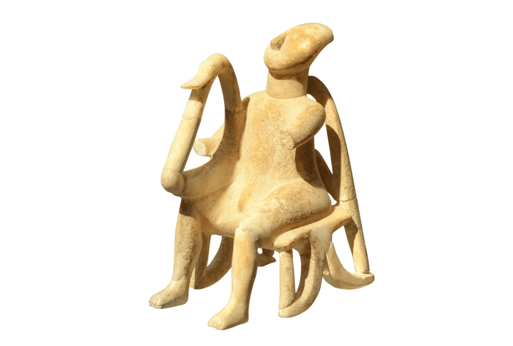 Cycladic-art-family-sculpture