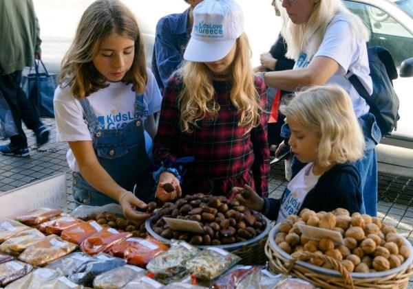 Mythology Food Tour for Families