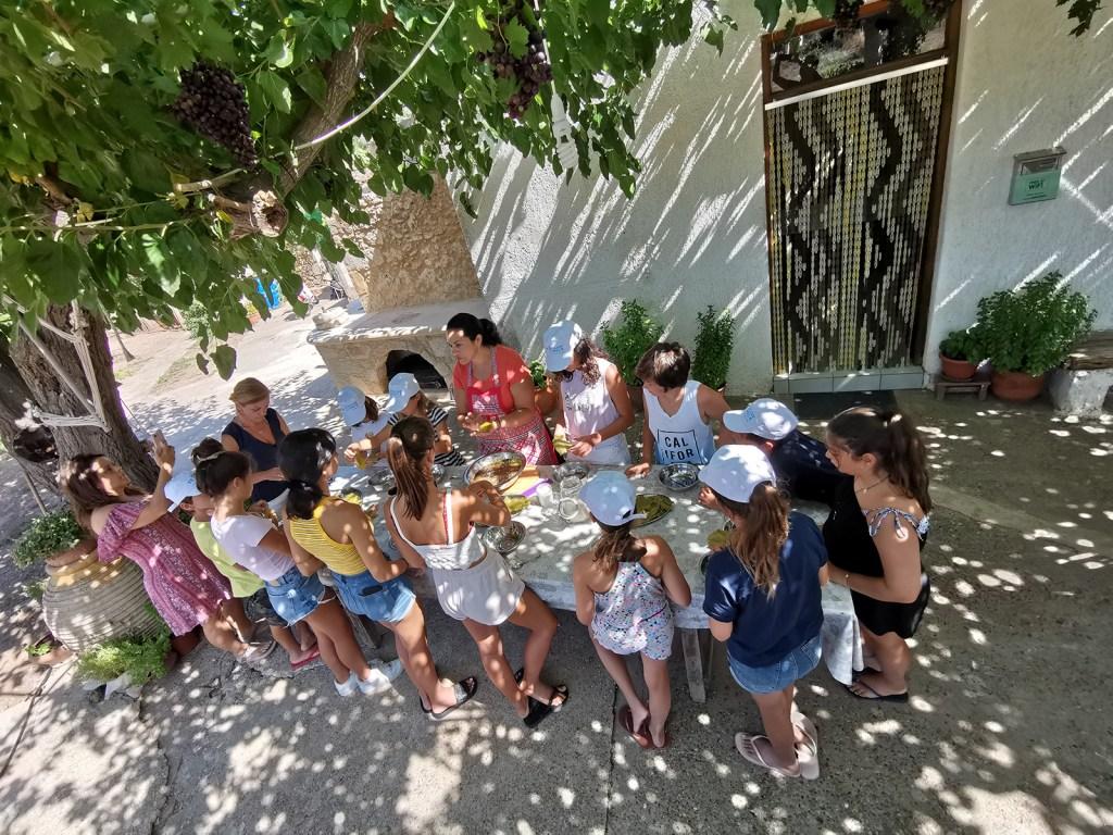 Cretan cooking class for kids Kissamos (12)