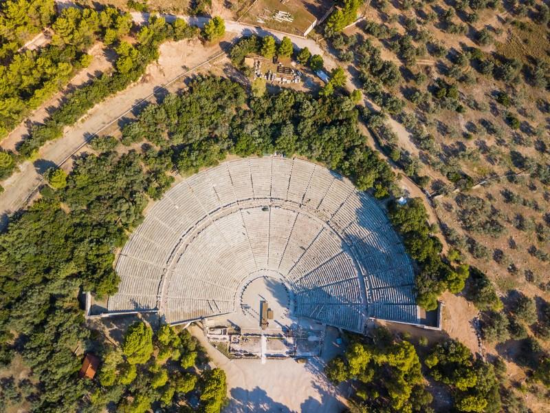 Percy Jackson Tour of  Epidaurus and Nafplion – Day Trip from Athens