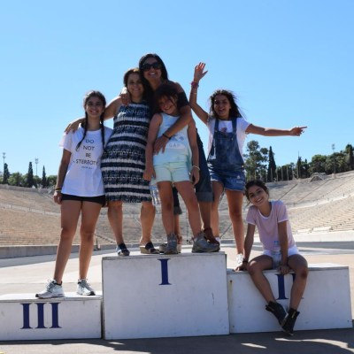 The Family Olympic Games Workout in Athens