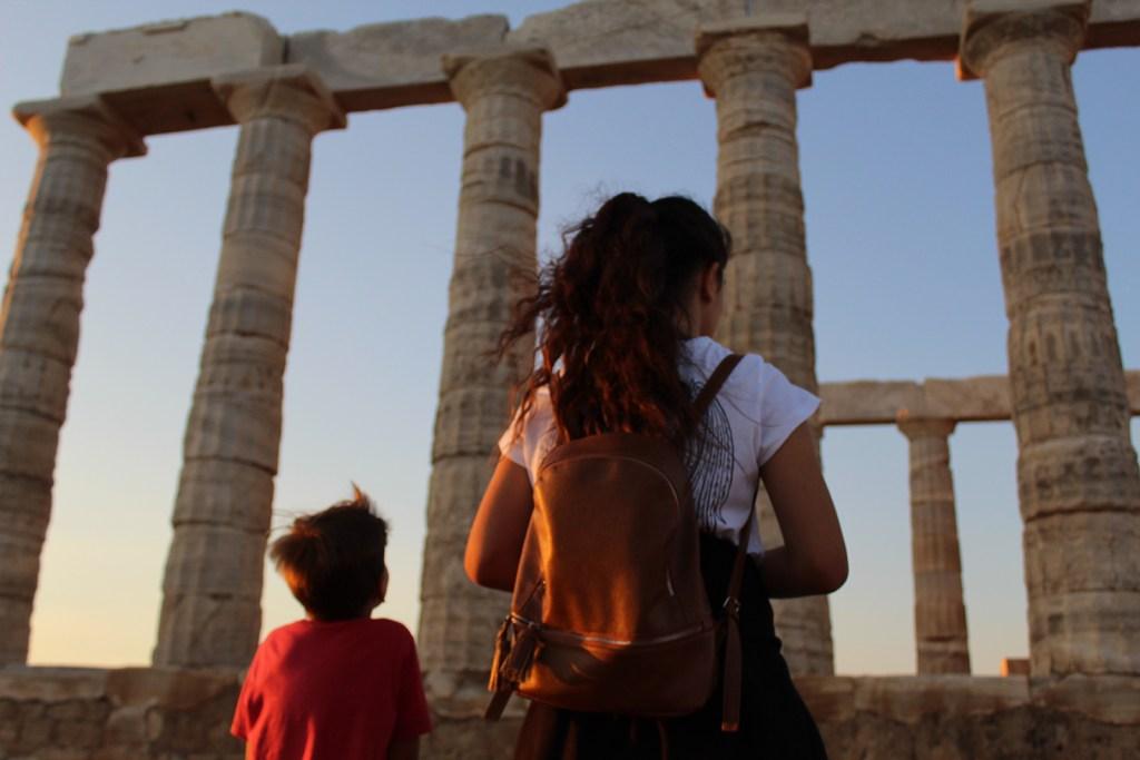 Temple of Poseidon Sounion Family Tour (11)