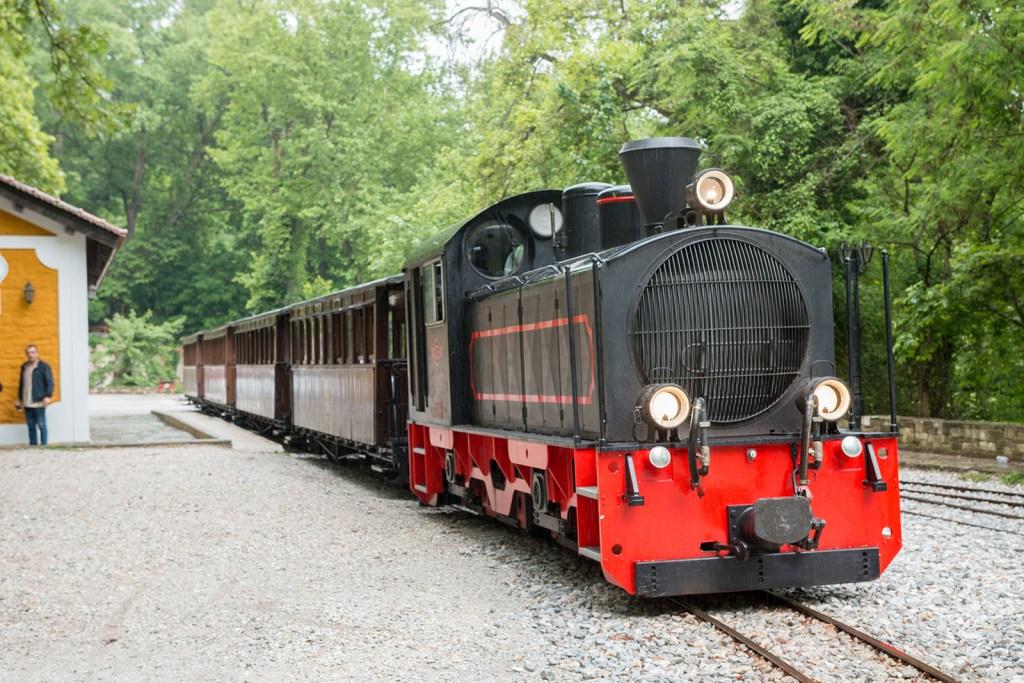 Train of Pelion mountain Volos