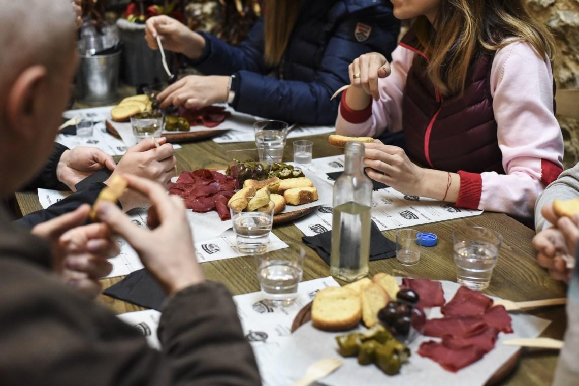 Athens Food Tour for families meze