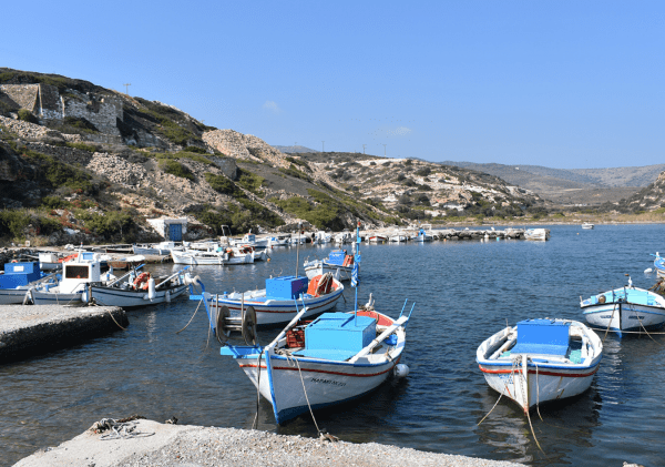Day trip to Kimolos from Milos