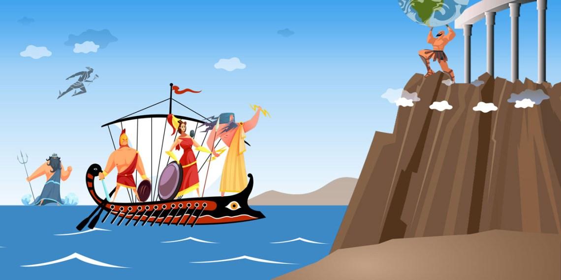 The Greek mythology online camp