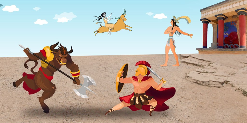 The Greek mythology online course titled myths of Knossos