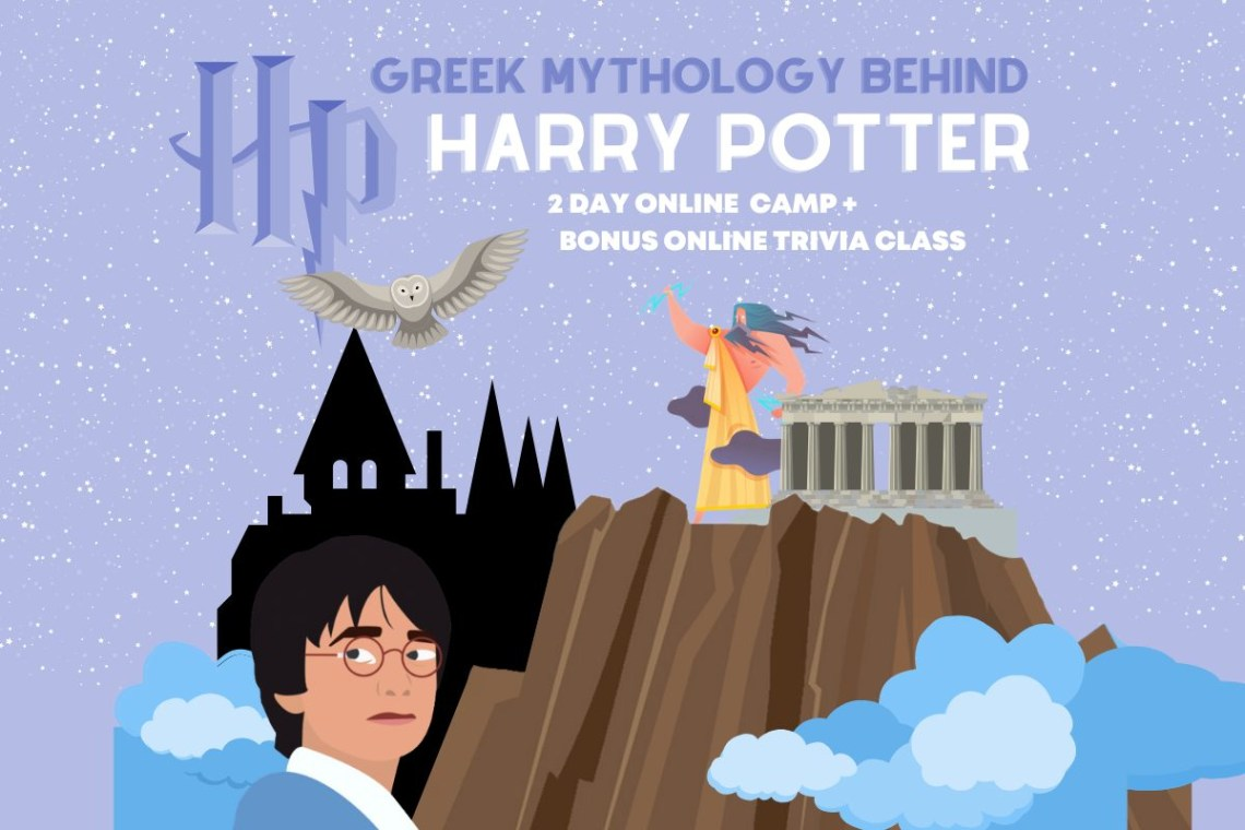 Greek Mythology Harry Potter Camp camp web
