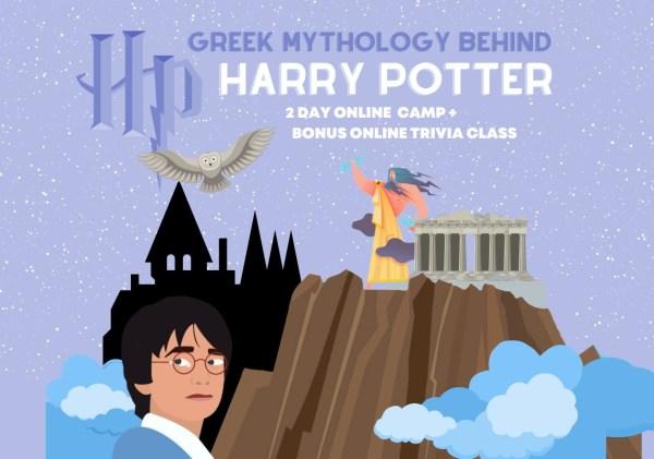 Greek Mythology Behind Harry Potter Online Camp – Bundle of 2 classes