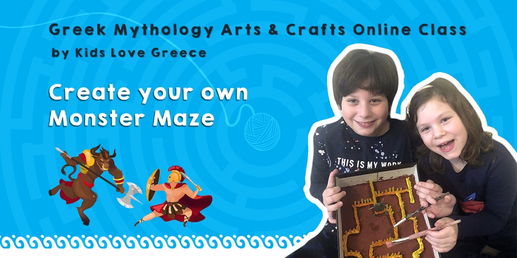 Arts and Crafts Online Workshop Create your own monster maze