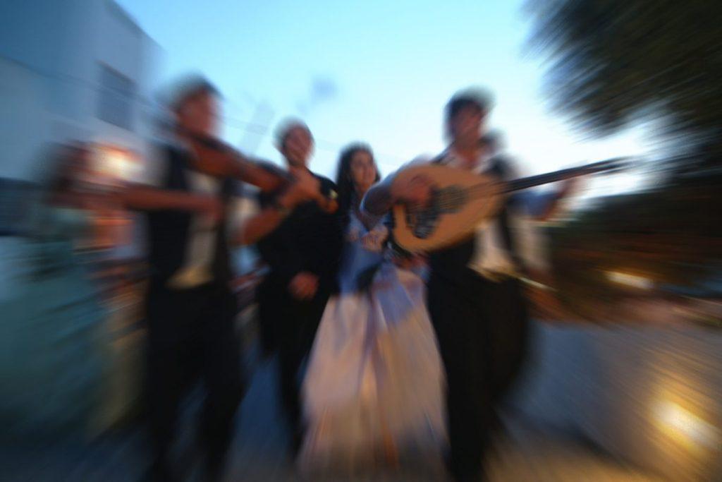 Greek dancing Canva pro wedding