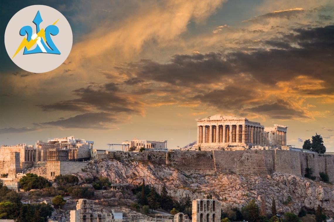 Acropolis Parthenon Athens Percy Jackson Tour for Kids Greece (2) Canva