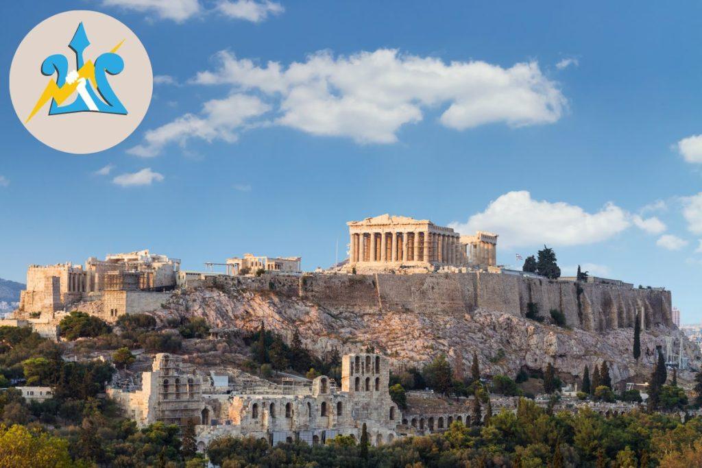 Athens Percy Jackson Tour Parthenon Acropolis for kids Greece