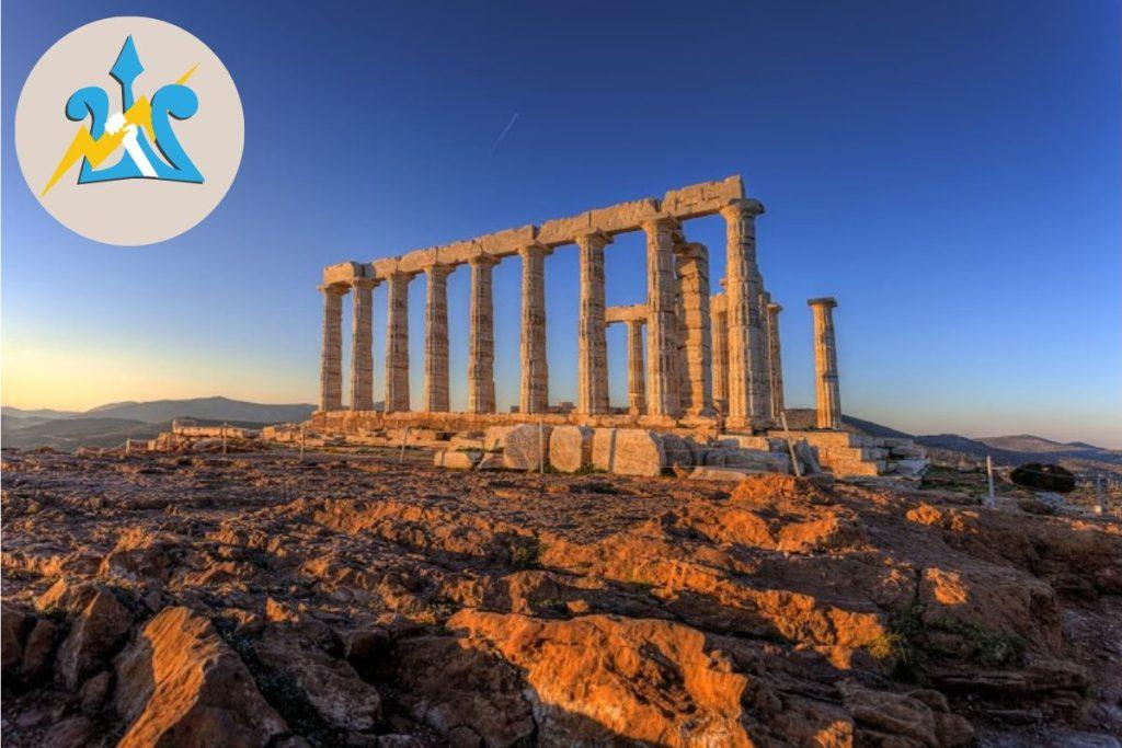 Athens Percy Jackson Tour Sounio Temple of Poseidon for Kids Greece DP