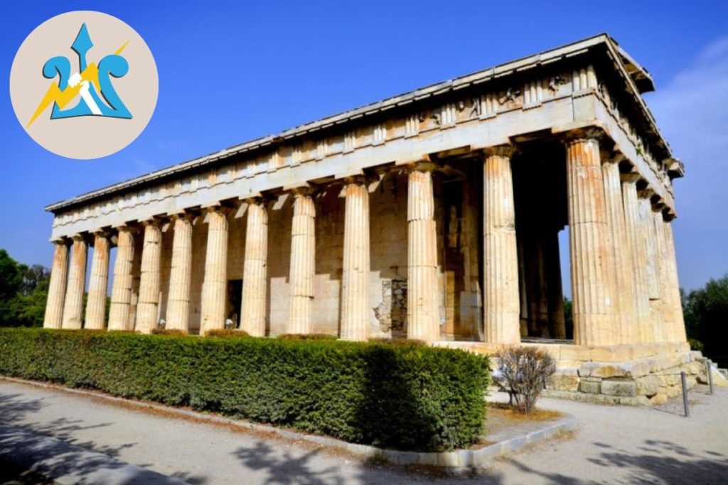 Athens Percy Jackson Tour Temple of Hephaestus and Ancient Agora for Kids Greece DP