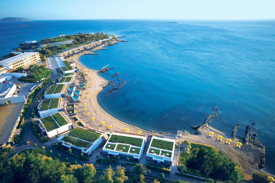 Grand Resort Lagonissi Athens riviera Family Vacation Greece aerial