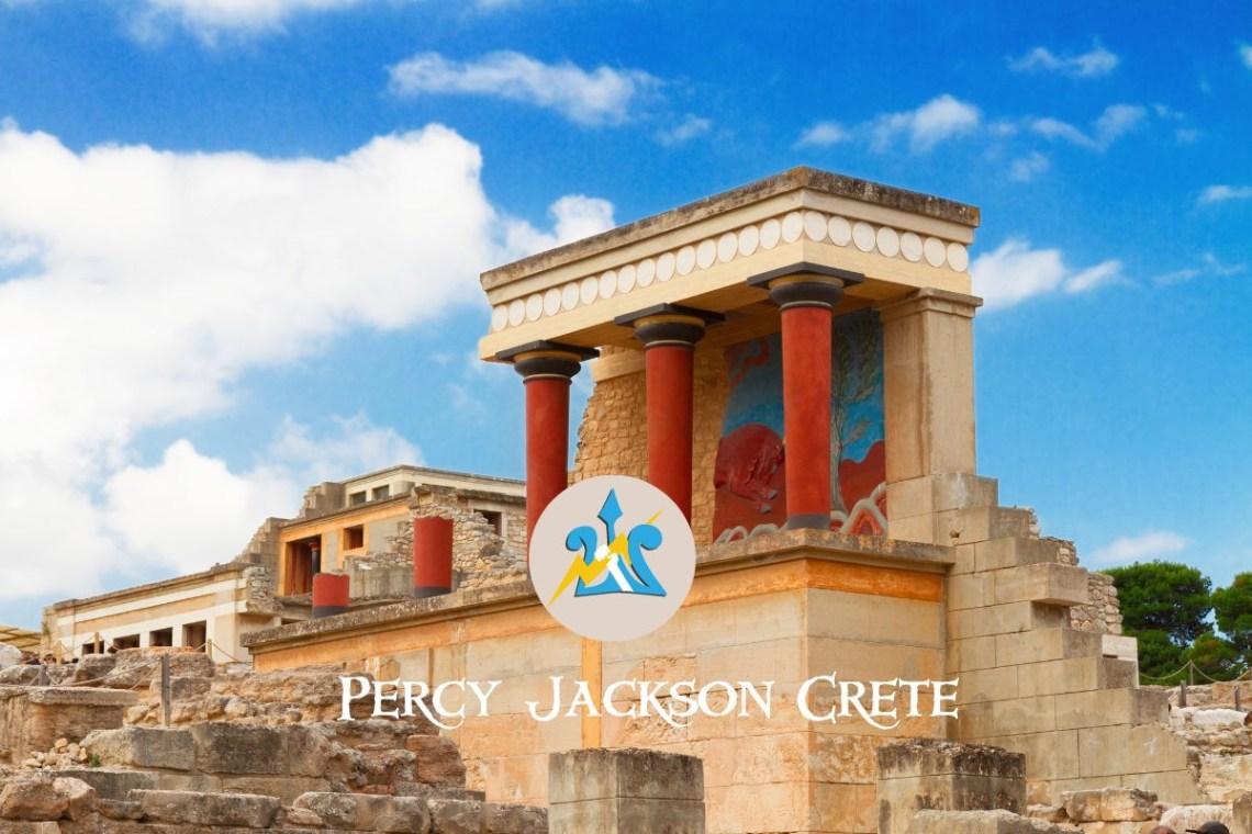 Palace of Knossos Crete Percy Jackson