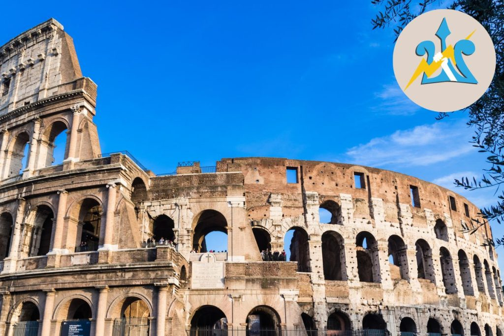 Percy Jackson Tour of Rome for Kids Italy Colosseum DP