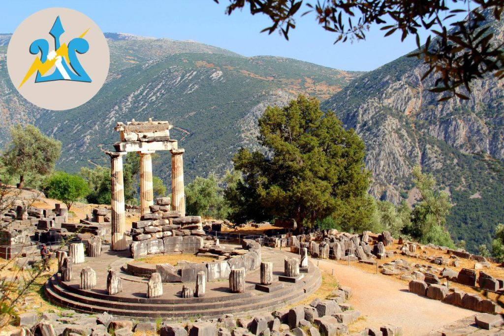 Visit Delphi with Kids who love Percy Jackson