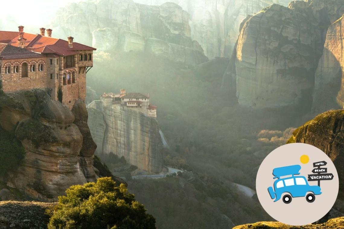 Self Drive Greek Mythology Trip for Families Meteora