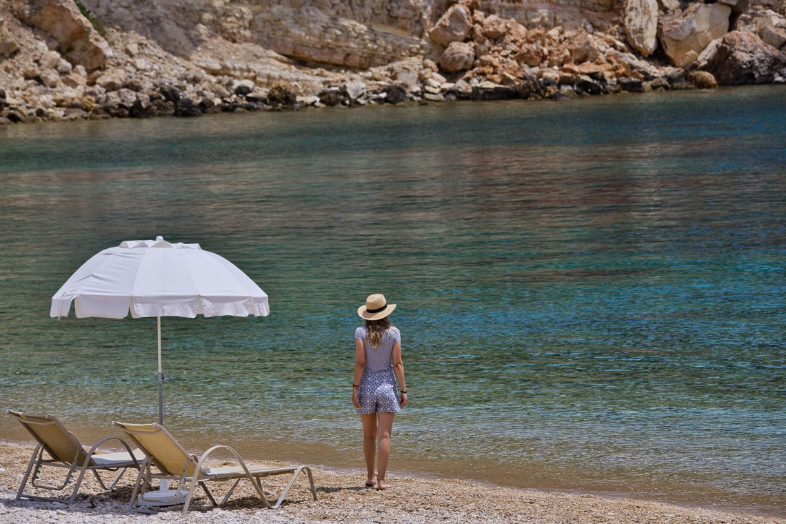The Marpunta Resort in Alonissos Family vacation Sporades private beach view