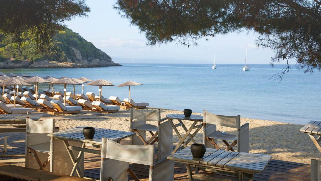 Elivi Resort Skiathos Beach Restaurant