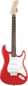 11-up electric Squier Bullet Strat HT trans
