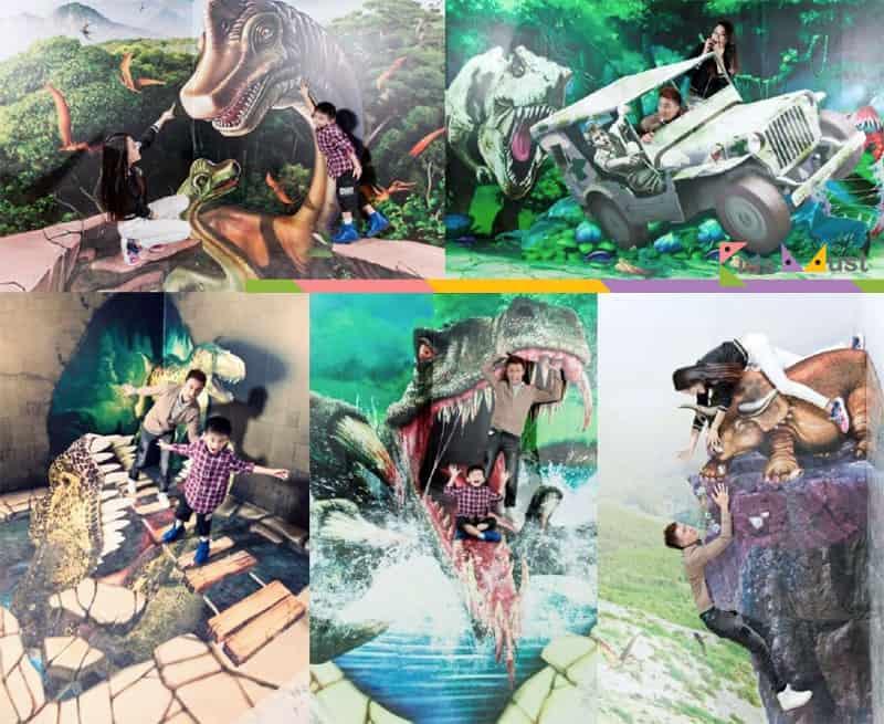 恐龍樂園「3D魔幻館」