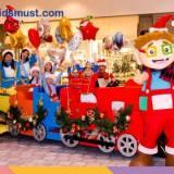 兒童聖誕活動:「聖誕室內大巡遊」「吹氣彈彈聖誕嘉年華」@荃灣愉景新城 [27/12/2016-1/1/2017]