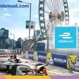 免費親子活動:Formula E 香港站E-village嘉年華@中環海濱 [登記截止: 30/9/2017]