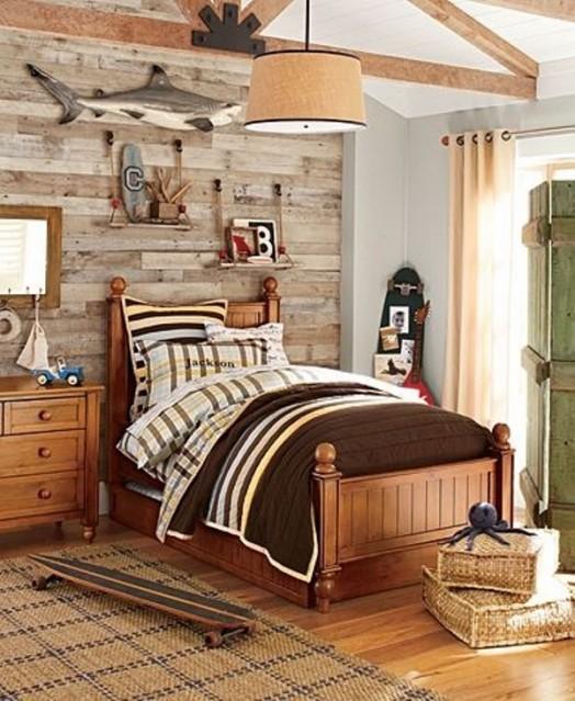 23 Creative And Cozy Rustic Kids Bedrooms   Kidsomania on Cozy Teenage Room Decor  id=91028