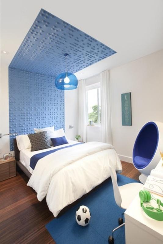 12 Modern Teen Bedroom Designs Based On Boy's Hobbies ... on Teenage Room Colors For Guy's  id=16763