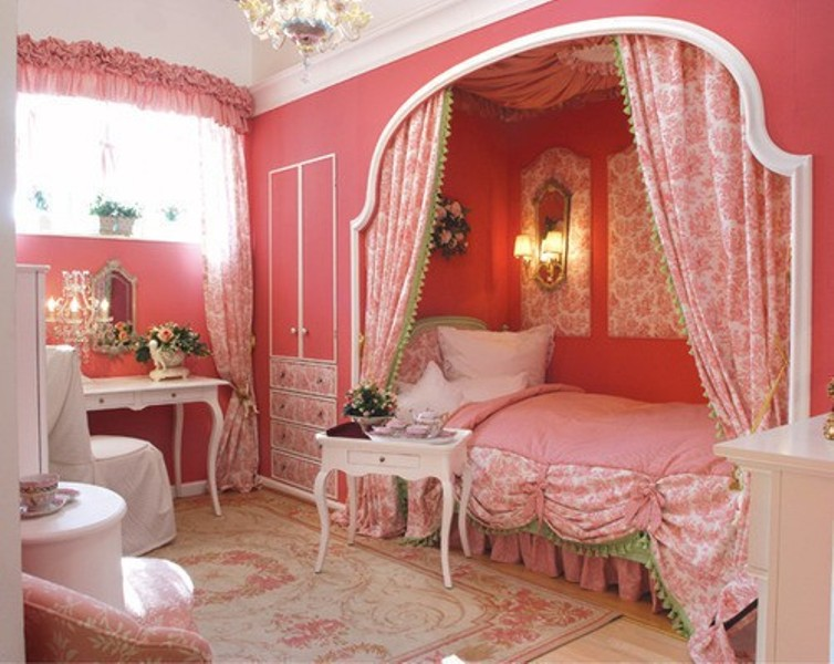 How To Create A Charming Girl's Room In Paris Style ... on Room For Girls  id=46310