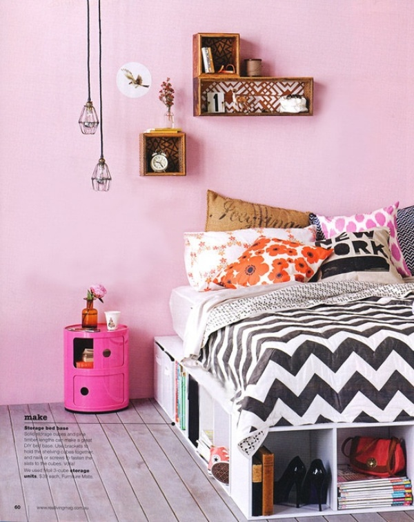 10 Simple And Fresh Design Ideas For Teen Girl's Bedroom ... on Teenager Simple Small Bedroom Design  id=25247