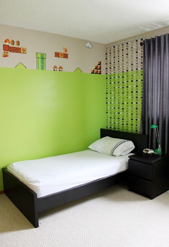 We've all been spending a lot of time indoors recently; 7 Cool Video Games Themed Room For Kids | Kidsomania
