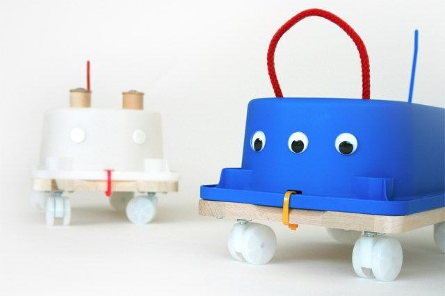 How To Make A Ride-On Toy For Your Kids From IKEA Parts