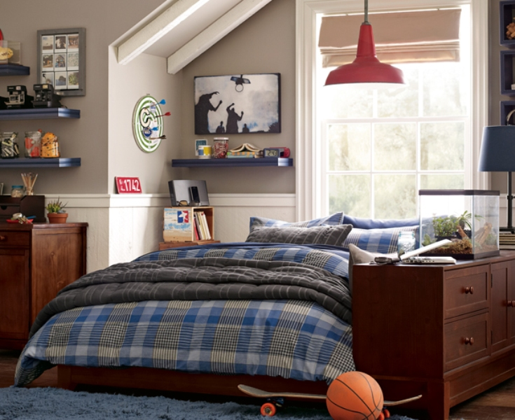 46 Stylish Ideas For Boy's Bedroom Design | Kidsomania on Bedroom Ideas For Guys  id=60989
