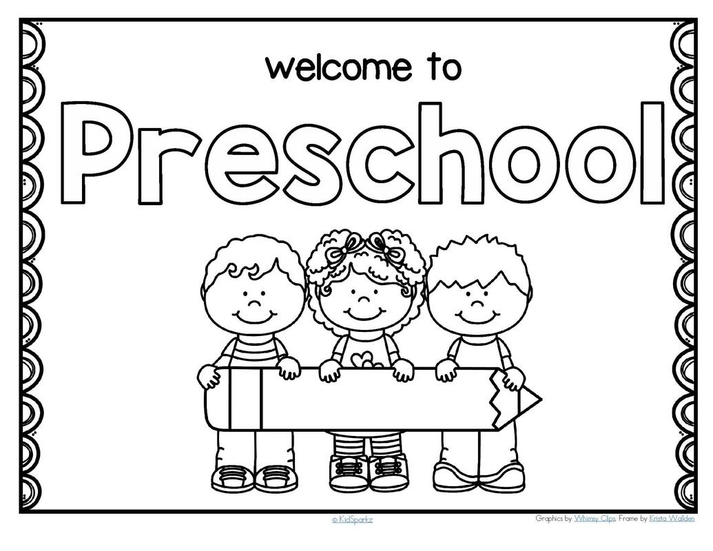 Back To School Preschool Theme Activities
