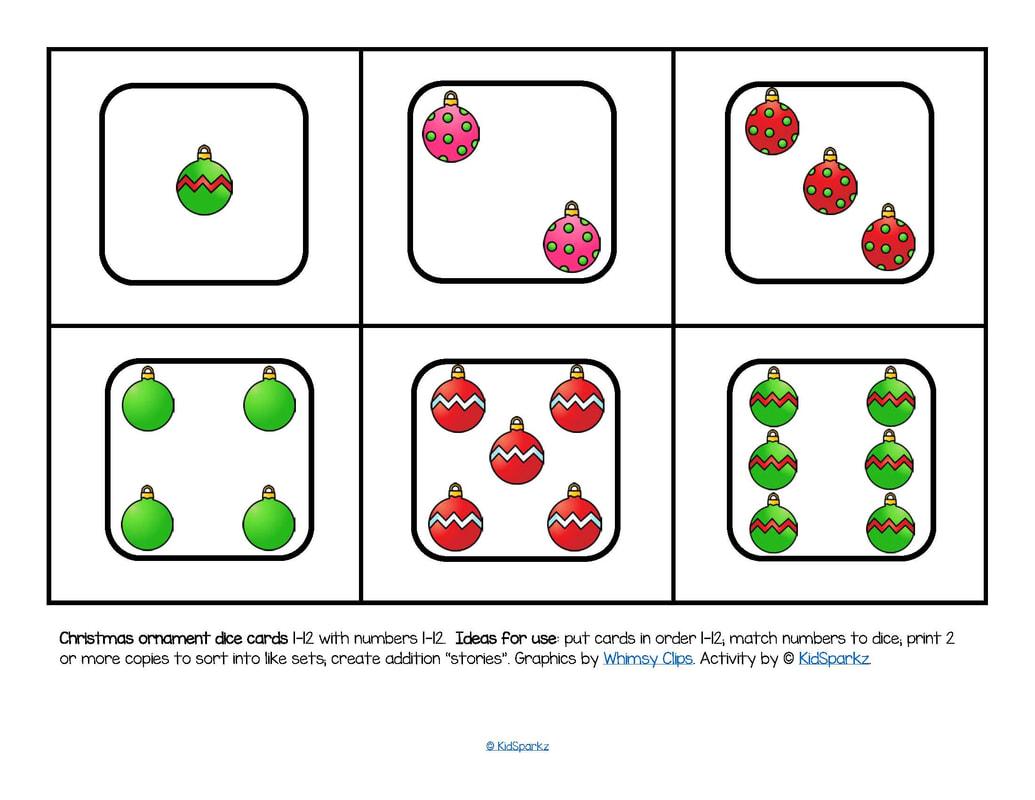 Preschool Christmas Theme Activities And Printables