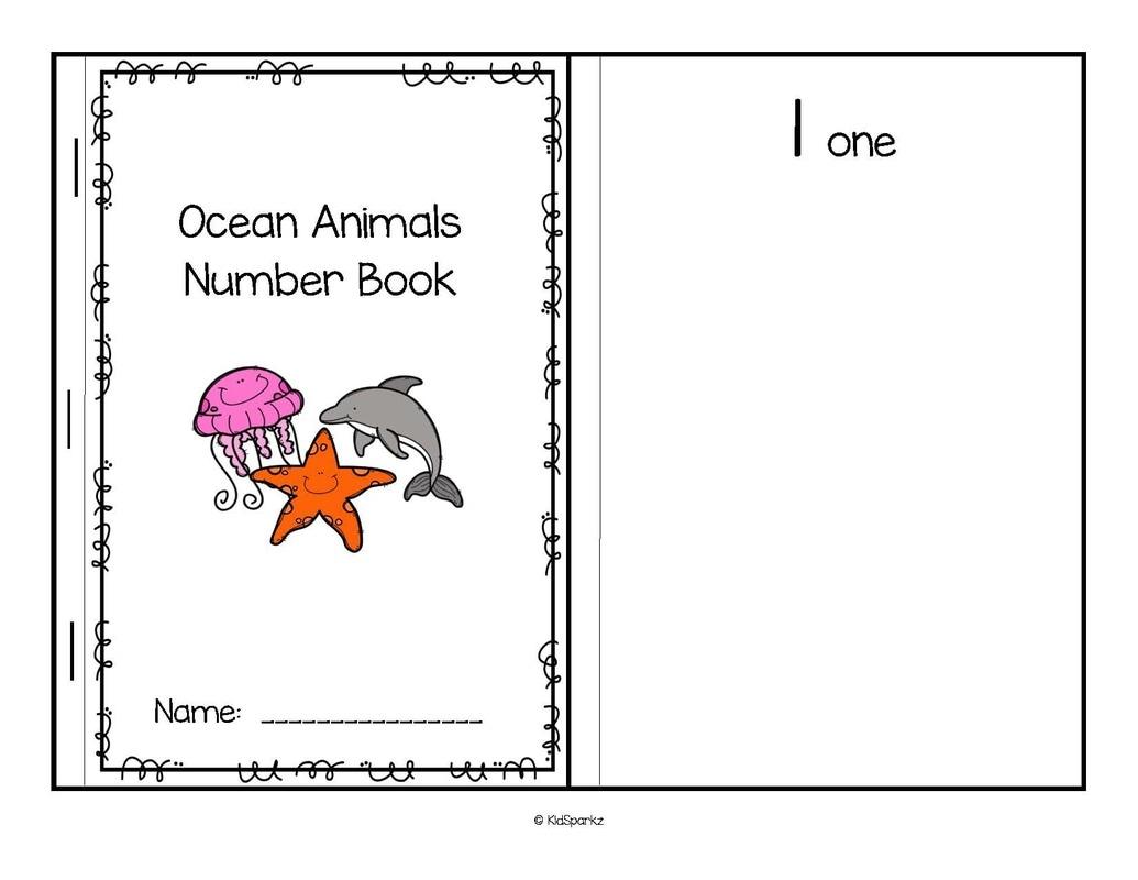 Oceans Animals Theme Activities And Printables For Preschool And Kindergarten