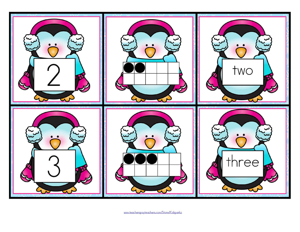 Penguins Theme Activities And Printables For Preschool And Kindergarten
