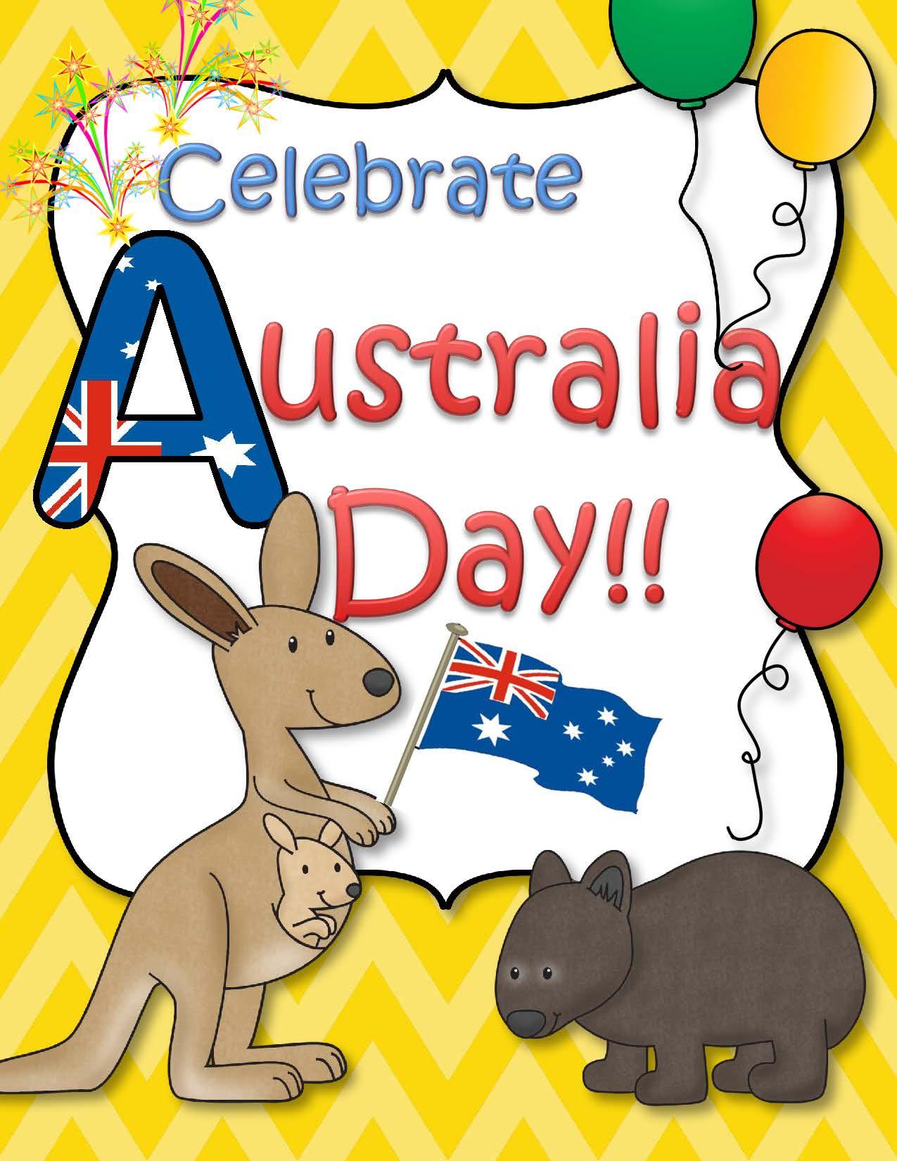 Celebrate Australia And Australia Day