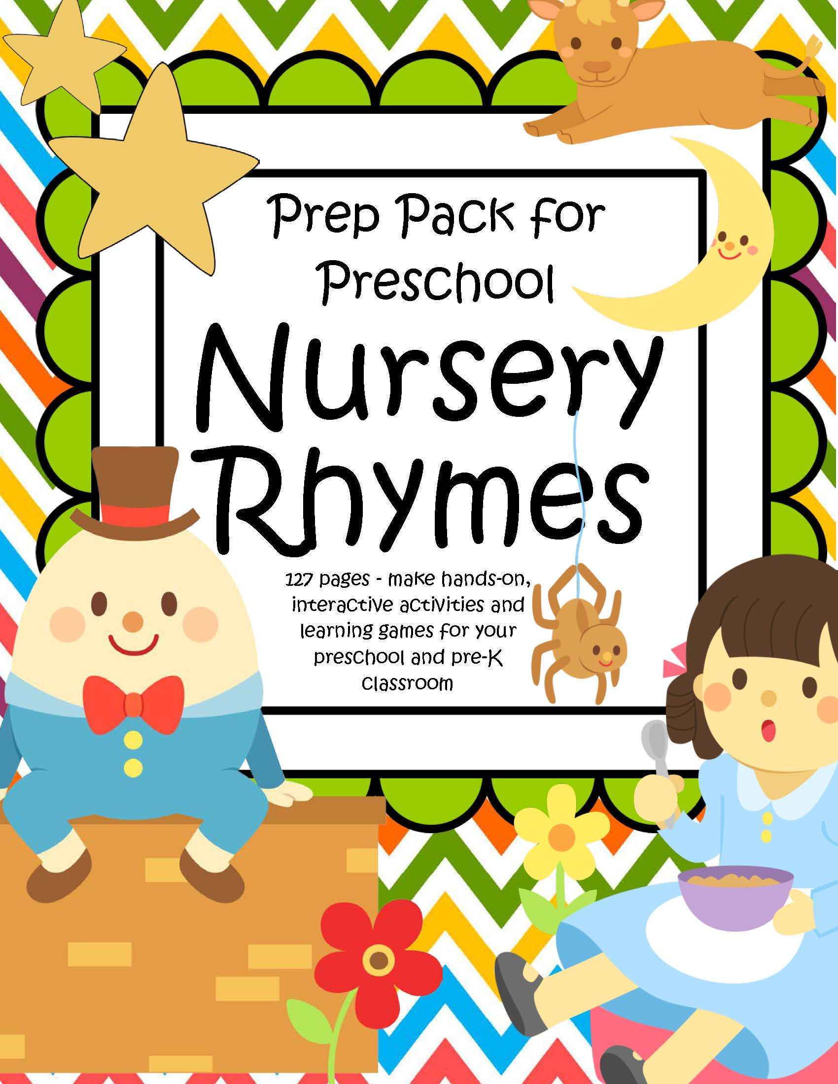 Preschool Nursery Rhyme Printables