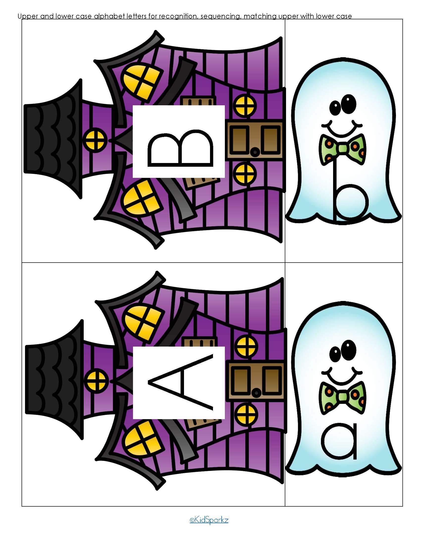 Halloween Theme Pack For Preschool