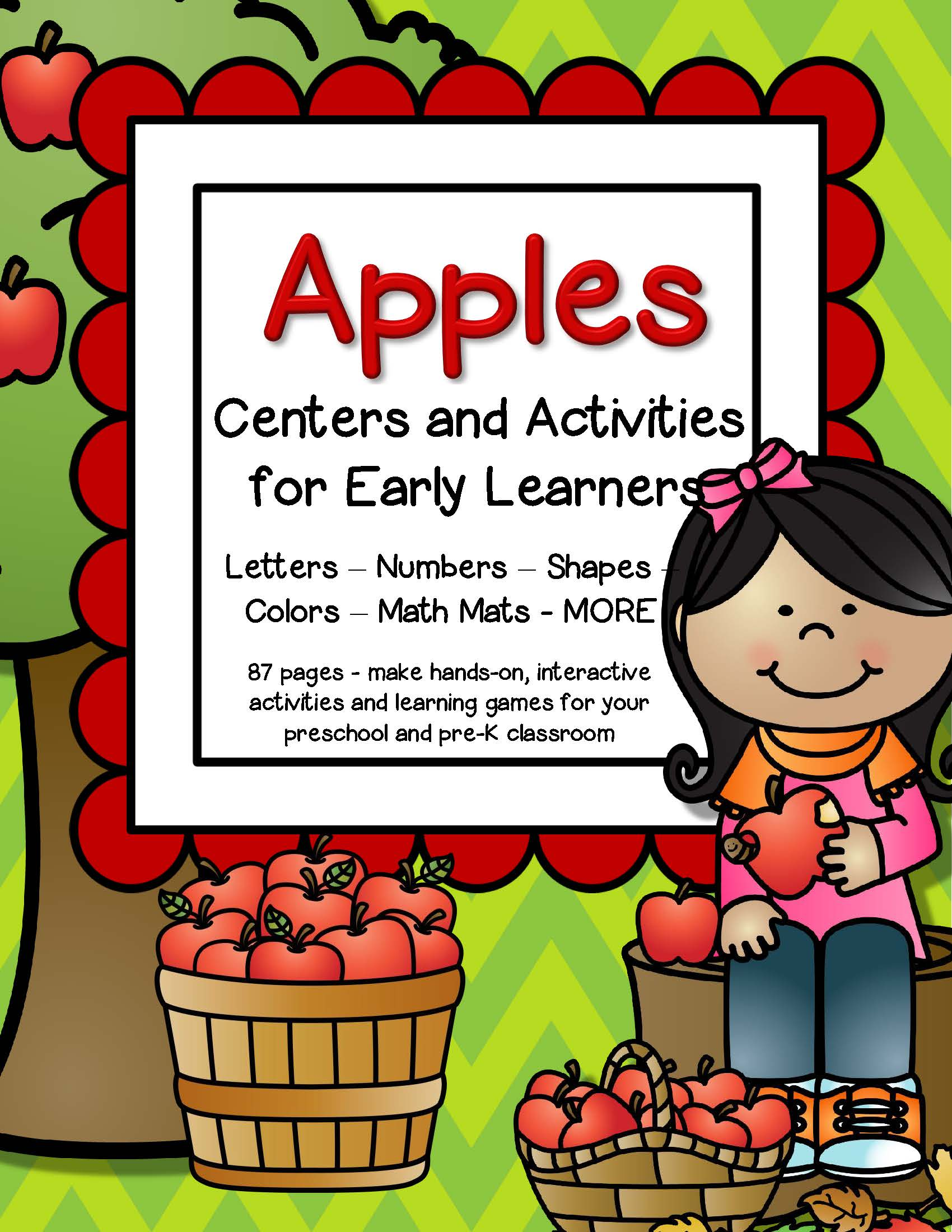 Apples Centers And Activities