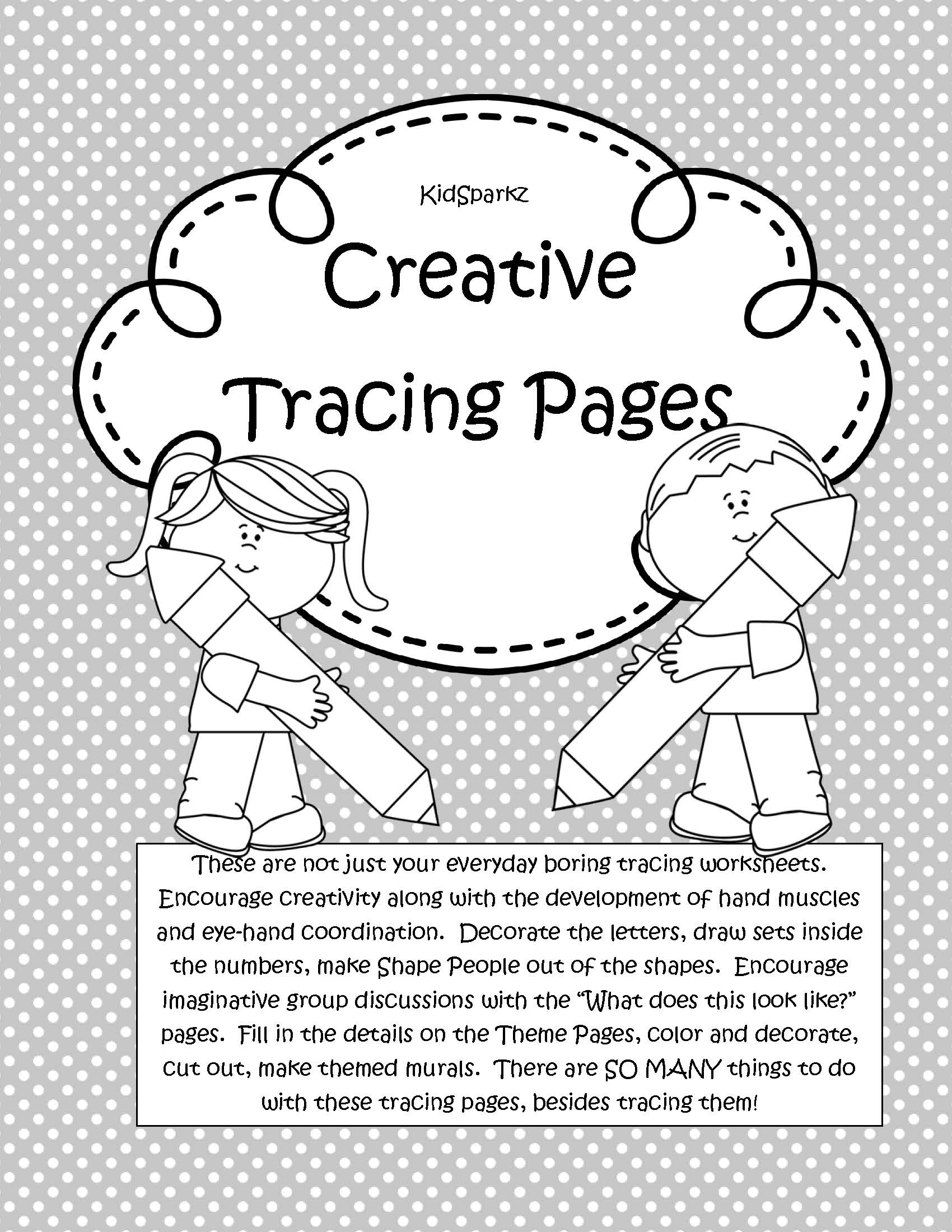 101 Creative Tracing Pages For Preschool And Pre K Letters Shapes Amp More